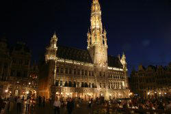Town Hall Grand Place Brussel - Grote Markt