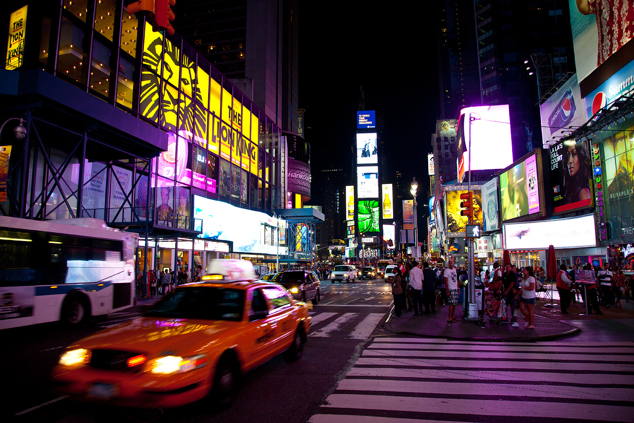 "Times Square, nicknamed ""The Crossroads of the World"" and ""The Great White ..."